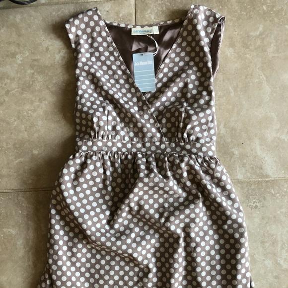 b369d15b186 Jojo Maman Bebe Empire waist Maternity Dress